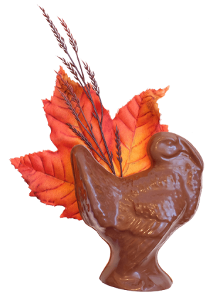 Thanksgiving Turkey in Milk Chocolate