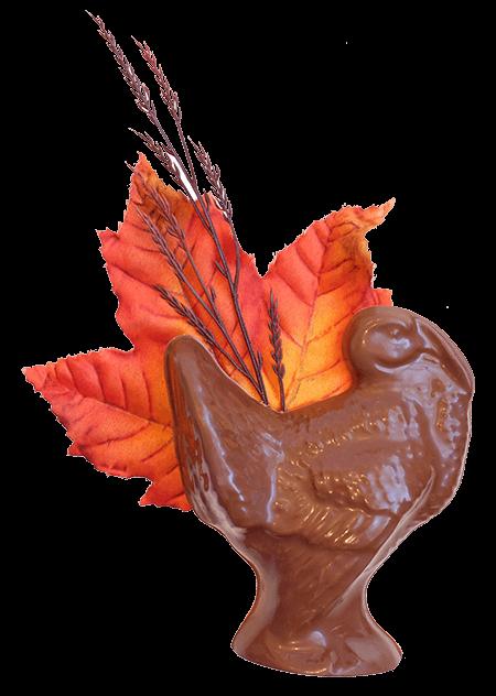 Thanksgiving Turkey in Milk Chocolate